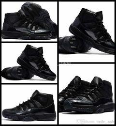 Wholesale Basket Ball Shoes Cheap - 2017 Air Retro 11 XI Men Basketball Shoes Black Cheap Devil High Quality Mens Retros 11s Sneakers Basket ball Trainers Sport Shoe 8-13