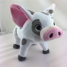 Wholesale Toy Pigs Wholesalers - New Fashion Cute Moana Pet Pig Pua Stuffed Plush Doll 20cm Toy Doll Boys Girls Lovely Pet