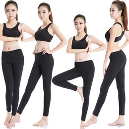 Wholesale Red Plaid Leggings - New 2017 Women Sport Pants Plaid Flowers Print Sport Fitness Leggings Women Slim Casual Leggings Free Shipping