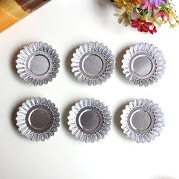 Wholesale Design Cake Mold - Aluminum Alloy Baking Mold Multi Function High Quality Family Necessity Tool Design Pudding Egg Tart Moulds Hot Sale 0 52hd R