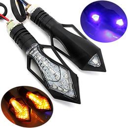 Wholesale Bike Blinker Light - 2x Universal Motorcycle Bike 12V Amber LED Turn Signal Indicator Blinker Light