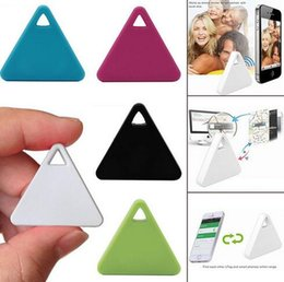 Wholesale Child Gps - Mini Smart Finder Bluetooth Tracer Pet Child GPS Locator Tag Alarm Wallet Key Tracker Ship In 1 Day