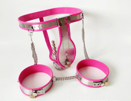 Wholesale Lockable Anal Plugs - New Male Chastity Belt with Removable Anal Bead Plug Adjustable Stainless Steel Chastity Belt with Cock Cage Lockable Penis Bondage Toy