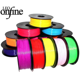 Wholesale 3d printers wholesale - Onfine Leo 10 pcs each color have one 1.75mm Print Filament ABS Modeling Stereoscopic For 3D Drawing Printer Pen