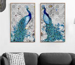 Wholesale Paint Tools - Special Shaped Diamond Embroidery Animal Peacock 5D Diamond Painting Cross Stitch 3D Diamond Mosaic Decoration bead DIY
