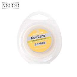 Wholesale Skin Weft Adhesive - Neitsi 1Roll USA Walker Tape Double Sided Tape 0.5inch *3 Yards NO Shine Adhesive for SKin Weft Hair Extensions Tape in
