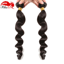 Wholesale Chinese Sale Beauty - Brazilian Loose Wave Virgin Hair beauty Grade Hannah Hair 4 Bundles 8-30 Inches Virgin Brazilian Human Hair On Sale