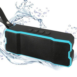 Wholesale Sport Outdoor Hd - Portable Wireless Bluetooth Speaker Outdoors HD Bass Sound Stereo Pairing,4500mAh IP65 Waterproof Sport for Smart phone iPhone iPod iPad