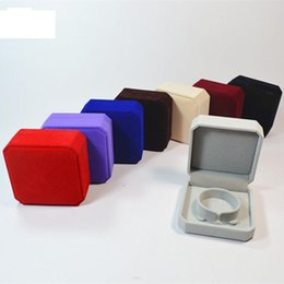 Wholesale wholesale velvet jewelry boxes - Top Grade 9*9*4cm Velvet Jewelry boxes bracelets bangle packing cajas de regalo Gift Box Caixas para presente wholesale Free Ship