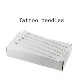 Wholesale Disposable Magnum - Box Of 50Pcs 9M1 Single Stack Magnum Sterile Disposable Tattoo Needle Supply Sterilized Tattoo Needle Free Shipping