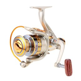 Wholesale 8BB Ball Bearings Left Right Spinning Fishing Reel High Speed Gear Ration Sea Saltwater Fishing Reel Wheel