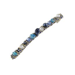 Wholesale New Hair Clips Style - New Style Fashion Hair Jewelry Blue Green Red Color Barrettes Hairwear For Women Fashion Designer