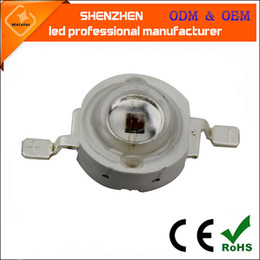Wholesale High Power Led Chip 5w - 1W 3W 5W High Power LED UV Light Chip 365nm 375NM 385nm 395nm 400nm 415nm 420nm Ultra Violet DIY