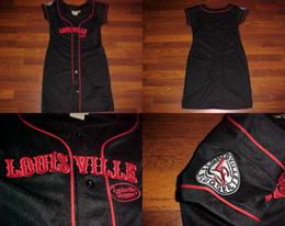 Wholesale Jersey Dress Shorts - G-III Carl Banks Louisville Slugger Jersey Dress M NEW S-4XL