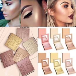 Wholesale Make Up Long Lasting - Kyshadow Kylie Jenner Contour Powder Highlighters Eyeshadow Kylie Cosmetics the Bronze Palette Brighten make up Waterproof Eyeshadow