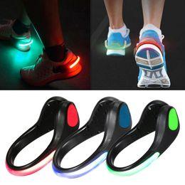 Wholesale Free Running Flash - Cool 3 Mode LED Luminous Shoe Clip Light Night Safety Warning LED Bright Flash Light For Running Cycling Camping free shipping