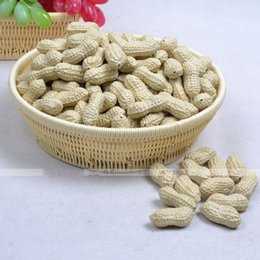Wholesale Peanuts Baby - Novelty Simulation Peanut Artificial Peanut Plastic Peanut for Baby Educational Home Decor Wedding Christmas Party Decoration 1000pcs lot