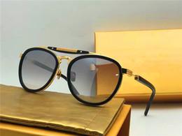 Wholesale Top Men Models - new men brand sunglasses frency&mercucy sunglasses vintage retro model pilot frame RASTRO fashion summer style top quality