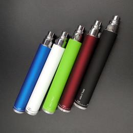 Canada Ego-C Twist Batterie Batterie à tension ajustable Cigarette électronique E-cigarette pour MT3 CE4 Atomizer 510 eGo batterie cheap ego c twist adjustable Offre