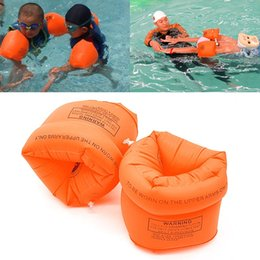 Wholesale Inflatable Toys For Women - Men Women Adult Child Safety Training Inflatable Swim Pool Swimming Arm Ring Circle Float Water Air Sleeves for Kids Swimming Band Arm Ring