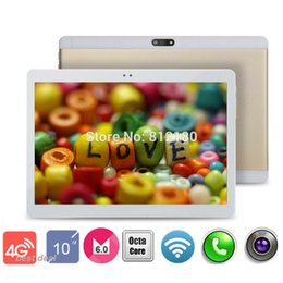 Wholesale Tablet Pc Metal Case - Wholesale- 2017 New Metal Case 10 inch 4G FDD LTE Tablet PC Octa Core 1920*1200 4GB RAM 32GB ROM Dual SIM Cards Android 6.0 tablets 10.1