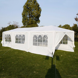 Wholesale Tents Wedding Canopies - cot 10'x30'Canopy Party Outdoor Wedding Heavy duty Gazebo Pavilion Cater Events AP2013WH tent garden