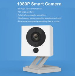 Wholesale Ip Cam Zoom - Original Xiaomi Xiaofang 110 Degree F2.0 8X Digital Zoom Smart Camera IP 1080P WIFI Wireless Cameras Nanny Cam Night Vision DVR