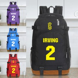 Wholesale College Sport Teams - landy house 2017 The basketball team Knight Kaili Erwin 2 Kyrie Irving james computer backpack shcool bags sports backpack team Souvenirs