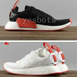 Wholesale Boots Flat For Woman - 2017 New NMD R2 Primeknit Running Shoes For Men Women Breathable Trainers Sport Sneakers Boots Basketball Shoes