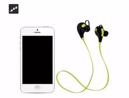 Wholesale Headphone Sport Fashion - In-ear Bluetooth Headphone QY7 Bluetooth 4.0 Stereo Earphone Fashion Sport Running Headsets Studio Music Earphone
