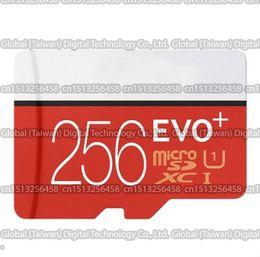 Wholesale Gopro Micro - 16GB 32GB 64GB 128GB 256GB EVO+ Plus micro sd card Class10 smartphone TF card C10 Tablet PC Storage card 80MB S