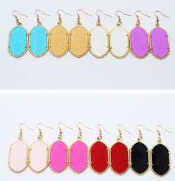 Canada Boucles d'oreilles Hot shnning, plaqué or et argent Durzy, pierre de géométrie originale, cadeau mignon pour les femmes, livraison gratuite et qualité hign Offre