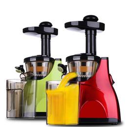 Wholesale Stainless Steel Juice Extractor - Colorful Life Home Vegetable Fruit Juicers Machine Lemon juicer Electric Juice Extractor 100% Original Household slow Juicers
