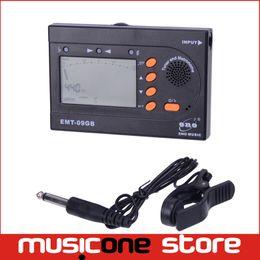 Wholesale Black Violin Bass - ENO 3 IN 1 Metro guitar Tuner EMT-09GB for Guitar Bass Violin Chromatic Black