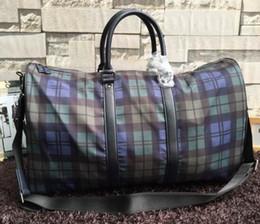 Wholesale Luggage Locks - 2016 Luxury Brand Name Travel Bag Real Leather Travel Bags P Brand Mens Keepall High Quality Men Bag fashion Luggage Bag Duffle Bags Handbag