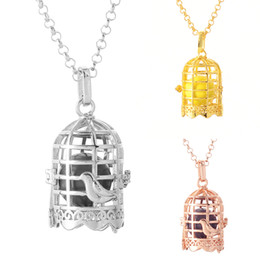 Wholesale White Gold Floating Locket - Pregnant Women Pregnant Poultry Throwing, Aromatherapy Brain Floating Pendant Necklace Female Piano Pendant Pendant