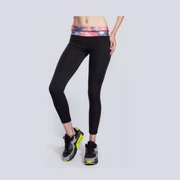 Wholesale Galaxy Trendy - Wholesale- YIWU YOUNGA 2016 Plus Size 6 Trendy colors Cloud Leaf Flower Galaxy Pattern print Women's Yoga Pants Black Basic Yoga Leggings