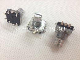 Wholesale Audio Encoder - Wholesale- [BELLA]SOUNDWELL car audio digital potentiometer rotary encoder switch SMD EC11-20-11KQ--100PCS LOT