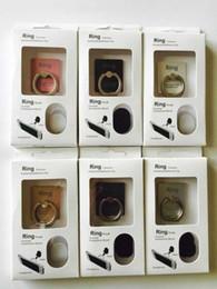 Opciones de telefono online-Venta de stent para teléfono Antirrobo Opción giratoria de 360 grados Super calidad Conveniencia Lazy Ring hebilla soporte Universal Metal Soporte creativo