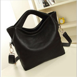 Wholesale Low Priced Leather Handbags - Wholesale- Lowest price sell!Genuine leather bag High quality cowhide Leather handbags leisure women bag women messenger bags Crossbody bag