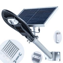 Wholesale Industrial Solar - Outdoor lighting Solar Integrated Street Light LED Street Light street garden lamp led road light Waterproof IP65 Anti-lightnin 10W 12W 20W