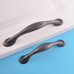 Wholesale red cabinet handles - wenzhou furniture hardware factory directly wholesale zinc alloy material red bronze color bedroom livingroom cabinet cupboard pull handles