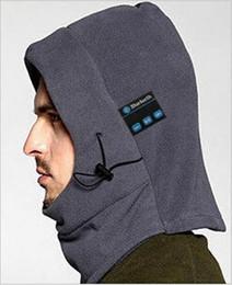 Wholesale Cs Fitting - 2016 warm winter outdoor multifunctional scarf mask CS caps hat Bluetooth hoods anti-snow cap