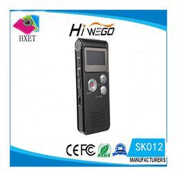 Wholesale Best Digital Recorders - Wholesale- Best 8GB Mini Digital Audio Voice Recorder Dictaphone MP3 Player Recording Pen Recorder Pen Rechargeable