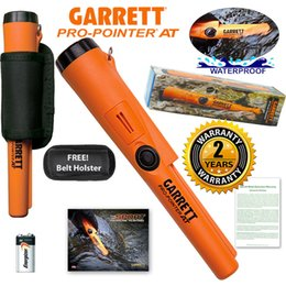 Wholesale Detector Garrett - DHL free shipping New Garrett Metal Detectors Propointer AT Pinpointer w  Holster Waterproof