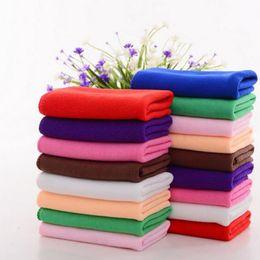 Wholesale Microfiber Towel Thick - 30 * 70CM Soft Thick Textile Microfiber Car Wash Cleaning Towel Microfiber Cloth For Car Accessories 100pcs