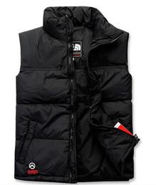 Wholesale Polartec Xl - The best-selling men DOWN winter down jacket North Polartec vest Male Sports Windproof Waterproof Breathable Face Outdoor Coats TNF0072