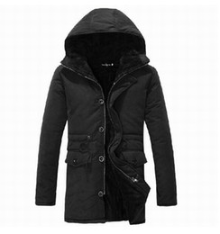 Wholesale Mens Add Jackets - Wholesale- 2014 Men's winter coat. skinny cotton-padded mens jacket, to add wool coat with hooded winter jacket coat ,free shipping