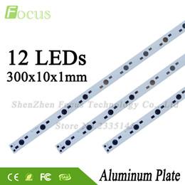 Commercio all'ingrosso 100 Pz 1 W 3 W 5 W LED Alluminio Piastra 300mm Con 1 3 5 Watt Perle Leggere Uso Per DIY 12 W 36 W Luci Acquario Crescono Luce supplier wholesale led lights for aquariums da luci all'ingrosso per acquari fornitori