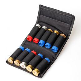 Wholesale Shotgun 12 - Ammo Pouch 1PC Shotgun Shell Holder For 12 Gauge 20G Magazine Pouch 10 Cartridge Loop